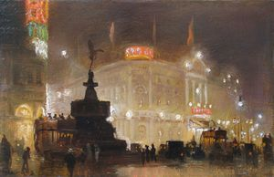 George Hyde Pownall - Piccadilly Cirque -