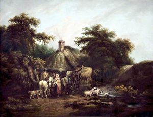 George Morland - Un pays nommer
