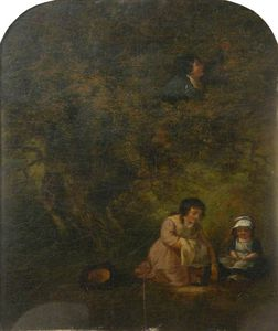 George Morland - Fruit Gathering