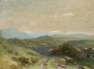 George William Russell - irlandais paysage