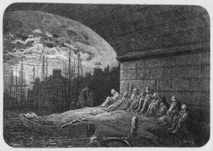 Paul Gustave Doré - Sous les arcades, illustration de 'london