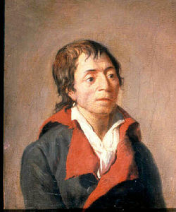 Jean Francois Garneray - Portrait de Jean-Paul Marat
