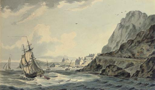 expédition off barmouth nord Galles de John Thomas Serres (1759-1825, United Kingdom)