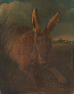 Philip Reinagle - Hare Chasse