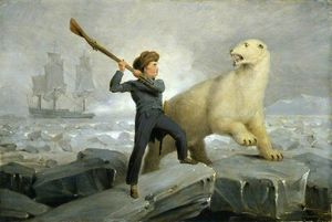 Richard Westall - NELSON et le Ours