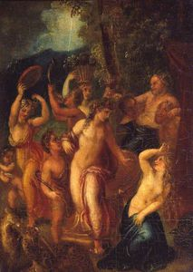 Thomas Stothard - Nymphes et satyres
