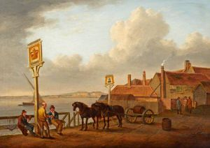 William Anderson - «Bell» Inn At Erith
