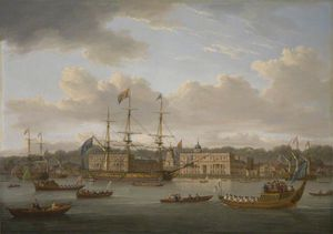 William Anderson - Le retour de George IV Pour Greenwich De l Ecosse