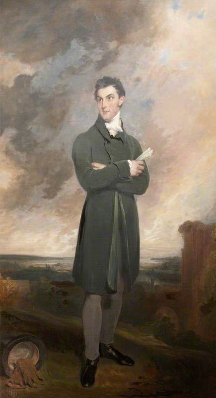 Monsieur Thomas Digue Acland de William Owen (1769-1825, United Kingdom) | WahooArt.com