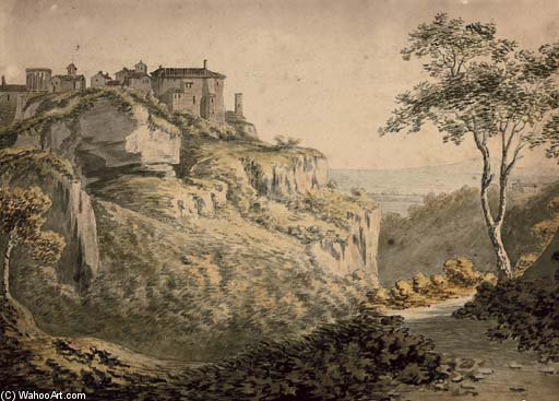 Tivoli de William Payne (1760-1830, United Kingdom)