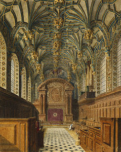 Charles Wild - hampton court palace , Chapelle