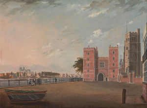 Daniel Turner - lambeth palace de louest