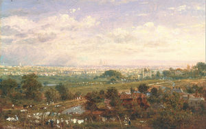 Frederick Nash - Londres de islington Colline