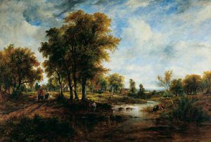 Frederick Waters (William) Watts - paysage