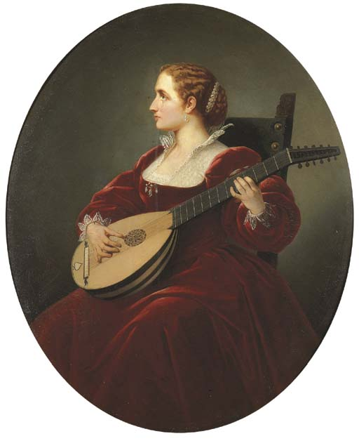 dolci accordi de Guiseppe Canella (1788-1847, Italy) | Reproduction Peinture | WahooArt.com