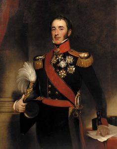 Henry William Pickersgill - portrait de Monsieur john conroy , Bt