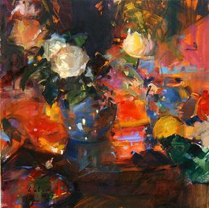 Peter Graham Ii - Oranges And Roses