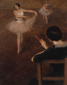 Albert Ernest Carrier Belleuse - le ballet classe