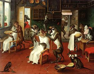 Reyer Van Blommendael - The Barber Shop