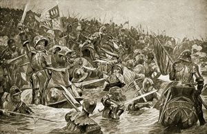 Richard Caton De Woodville - Le Battle Of Towton -