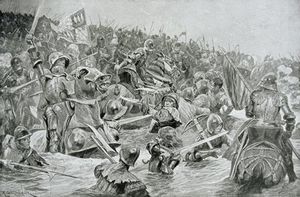 Richard Caton De Woodville - Le Battle Of Towton
