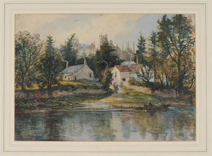 Samuel Bough - Wetheral Ferry