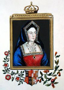 Sarah Countess Of Essex - portrait de catherine d'aragon