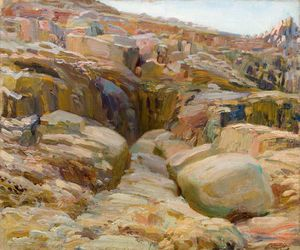 Alfred James Munnings - Lamorna Cove, Cornwall