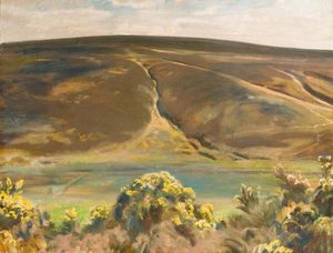 Alfred James Munnings - Mill Hill, Rame, Exmoor