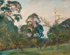 Alfred James Munnings - Selworthy, Somerset West