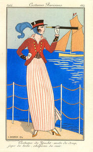 Georges Barbier - Costume De Yacht