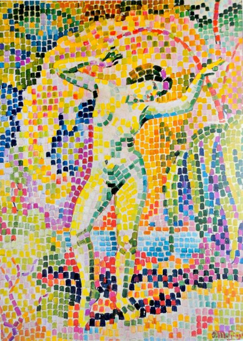 Bacchante de Jean Dominique Antony Metzinger (1883-1956, France) | Reproduction Peinture | WahooArt.com