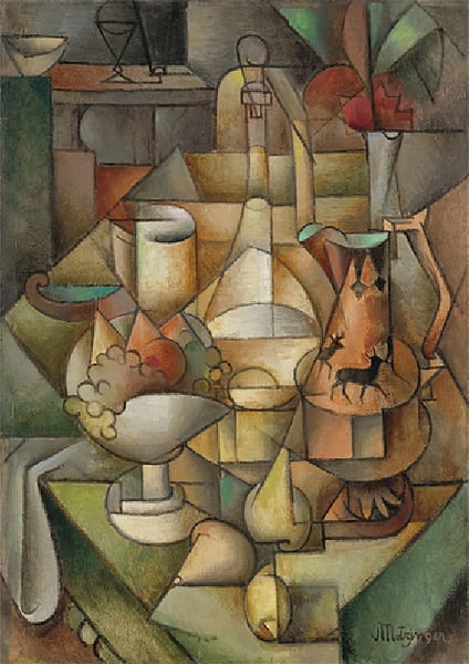 Nature Morte de Jean Dominique Antony Metzinger (1883-1956, France)