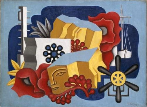 Still Life nautique de Jean Dominique Antony Metzinger (1883-1956, France)