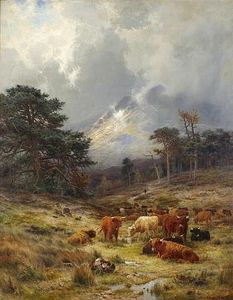 Louis Bosworth Hurt - Braes Au Orchy , Argylshire