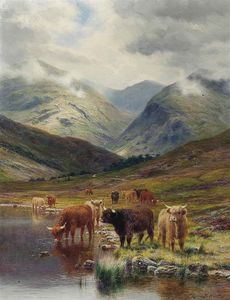 Louis Bosworth Hurt - dans glen nevis