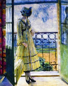 Louis Ritman - Girl On Balcon