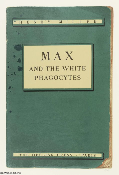 Max et les phagocytes Blanc de Ronald Brooks Kitaj (1932-2007, United States)