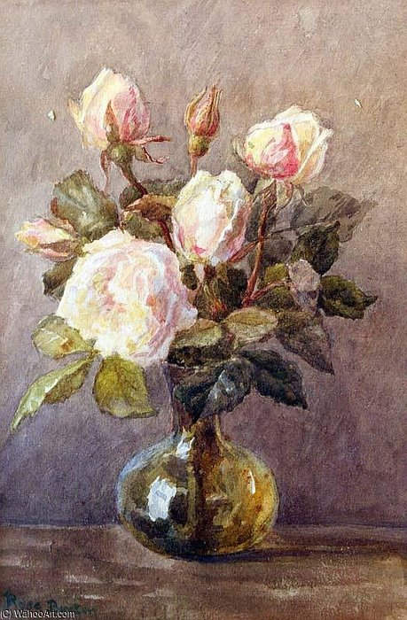 nature morte de Rose Maynard Barton (1856-1930, Ireland)