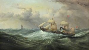 Samuel Walters - Reine britannique The Steamship