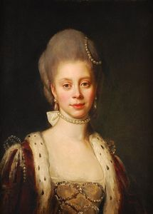 Nathaniel Dance-Holland - Reine Consort Pour George Iii