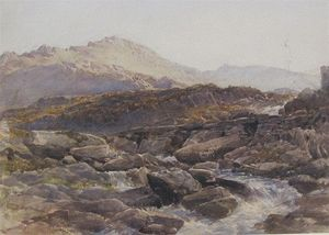 Thomas Collier - A Mountain Torrent