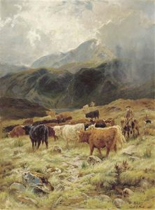 Louis Bosworth Hurt - Sur Le Loch Maree, Ross-shire