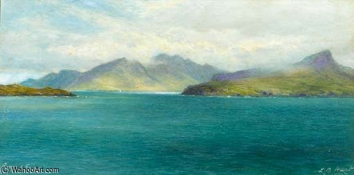 Biscornu et eigg de Louis Bosworth Hurt (1856-1929, United Kingdom)