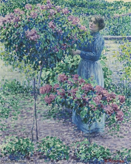 Dans The Arbor de Louis Ritman (1889-1963, Russia)