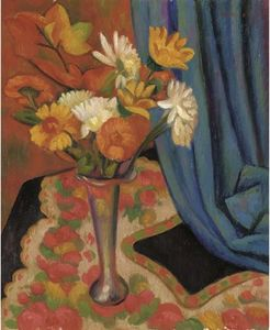 Mark Gertler - le argent vase