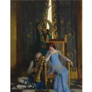 Nc Wyeth - Roi mark slew le noble chevalier sir tristram