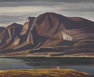 Rockwell Kent - Groenland Printanière