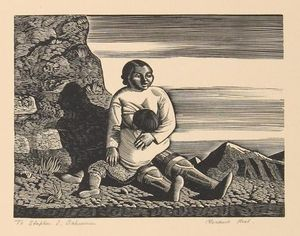Rockwell Kent - Groenland Chasseur