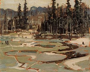 Thomas Clement Thompson - Portage, lac Ragged